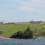 Kingston - 1000 Islands boat tour - Fort Henry from the water