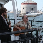 Kingston - 1000 Islands boat tour - greeted with music