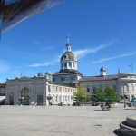 Kingston trolly tour - Market Square