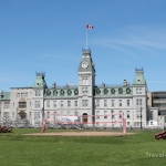 Kingston trolly tour - Royal Military College