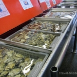 Fesh Oysters for sale on Ganville Island