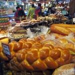 Fresh Chala bread on Ganville Island