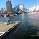 Sky Helicopters - Vancouver city tour - take-off!!!