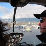 Sky Helicopters - Vancouver city tour - Our pilot Allan