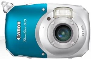 Canon PowerShot D10 Underwater Camera front