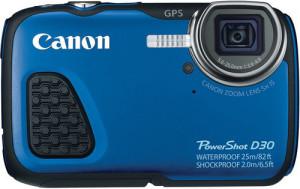 Canon PowerShot D30 Underwater Camera front